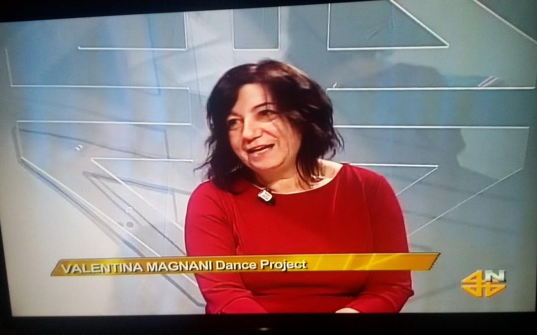Valentina Magnani ospite di TELE4